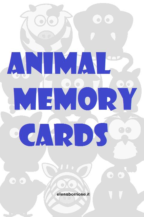 gioco animal memory
